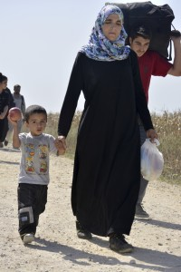 Syrian Refugee Family in Serbia_Large
